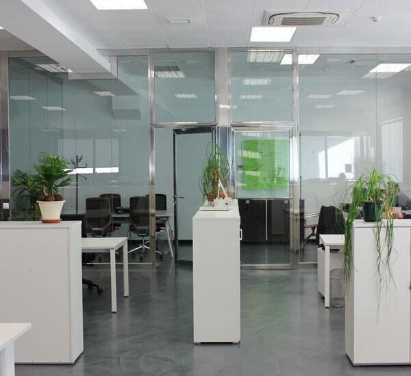 fugrup- Proyecto de arquitectura - oficinas josper